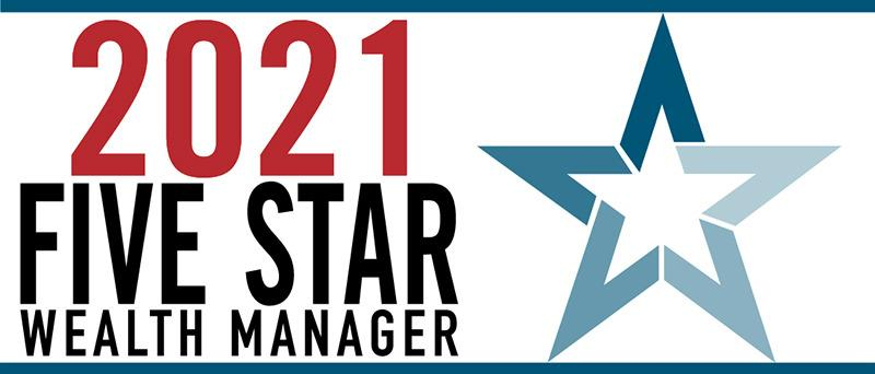 2021 New Jersey Five Star Wealth Manager Award